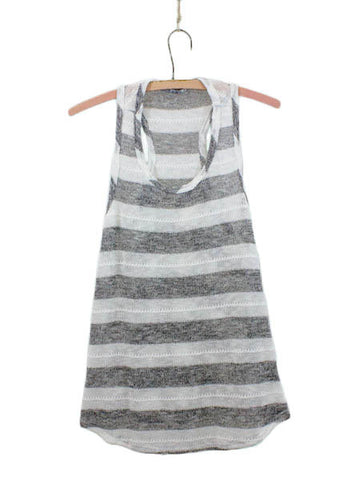 Even Tide Sweater Stripe Tank