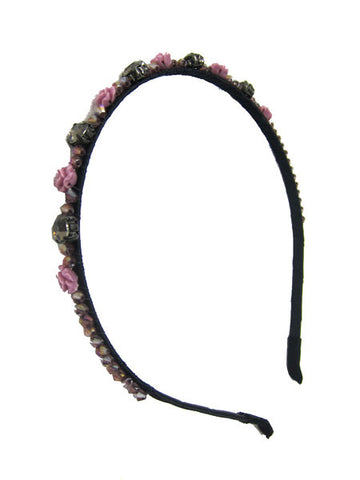 Band of Flowers Headband
