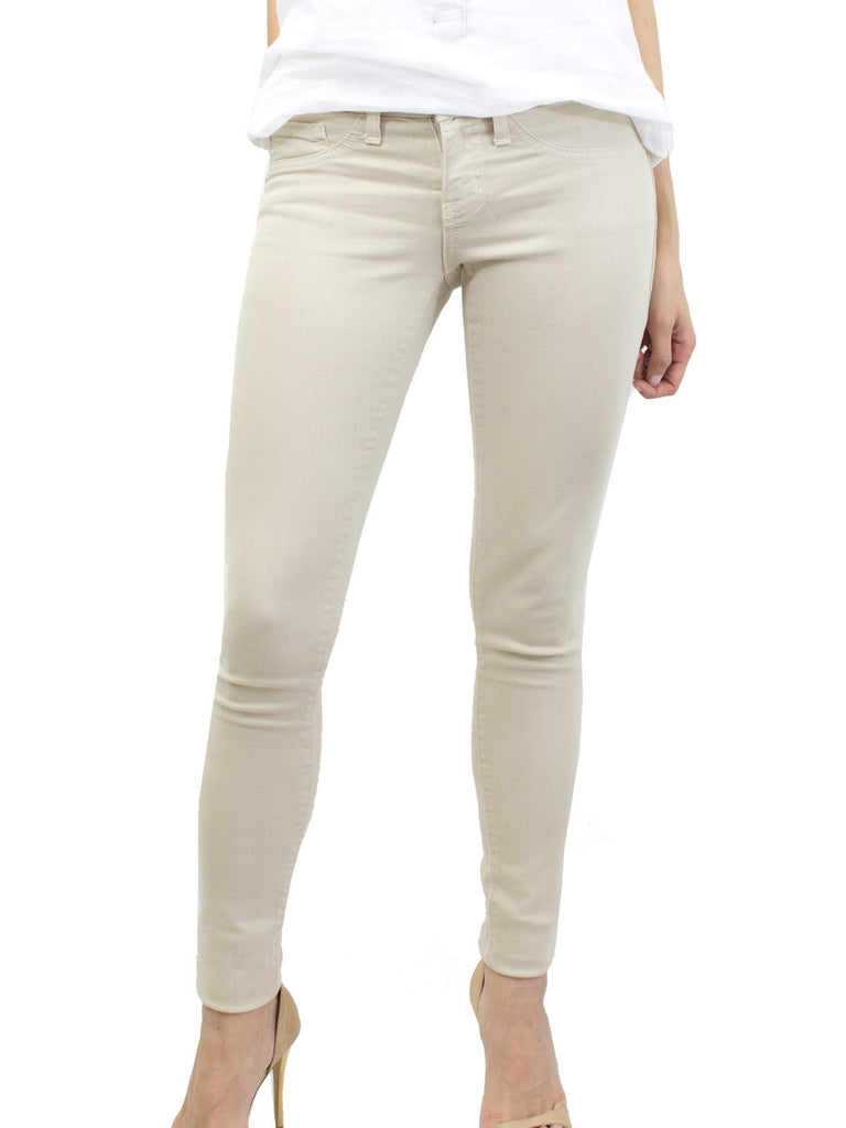 Flying Monkey Khaki Colored Denim Jeggings