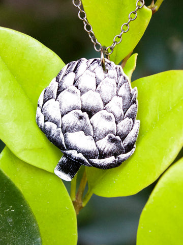 Baby Artichoke Necklace