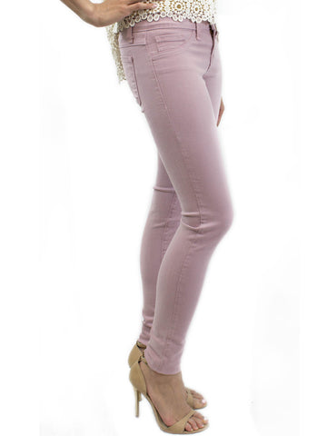 Flying Monkey Rose Colored Denim Jeggings