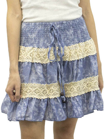 Cirrus Clouded Skies Skirt