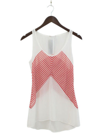 Red Seas the Day Sleeveless Top