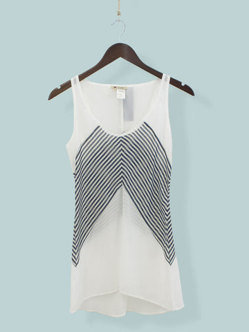 Black Seas the Day Sleeveless Top