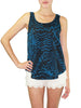 Blue Jazz Knit Tank