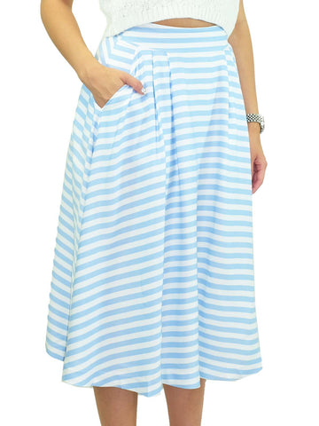 JOA Stripe Skirt