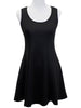 Black Seamlessly Simple Dress