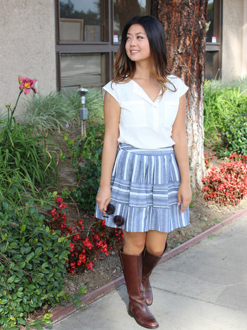 JOA Pleated Skirt