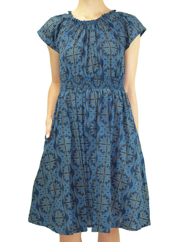 Blue Belle Twirl Dress