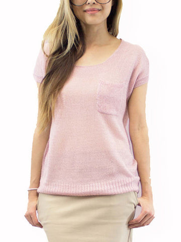 Rose Minuet Sweater Blouse