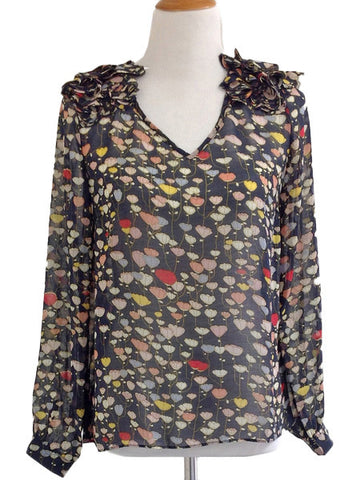 Raining Poppies Blouse