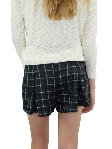 Plaid Prepster Shorts