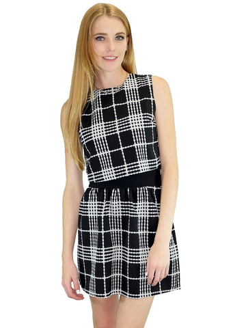 Relished Mad About Plaid Top and Skirt Set