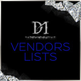 Exclusive Vendors List