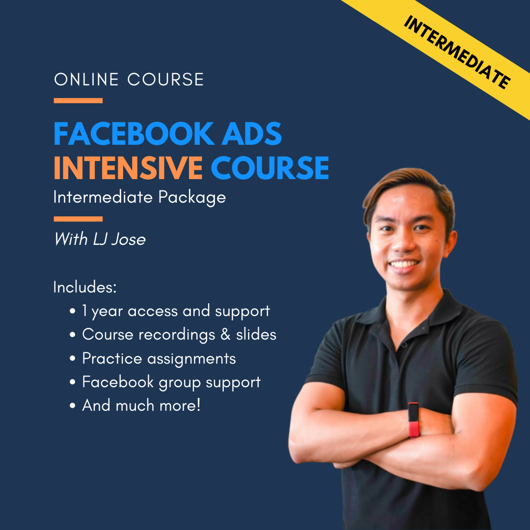 FB Ads Intensive Course - Intermediate Package