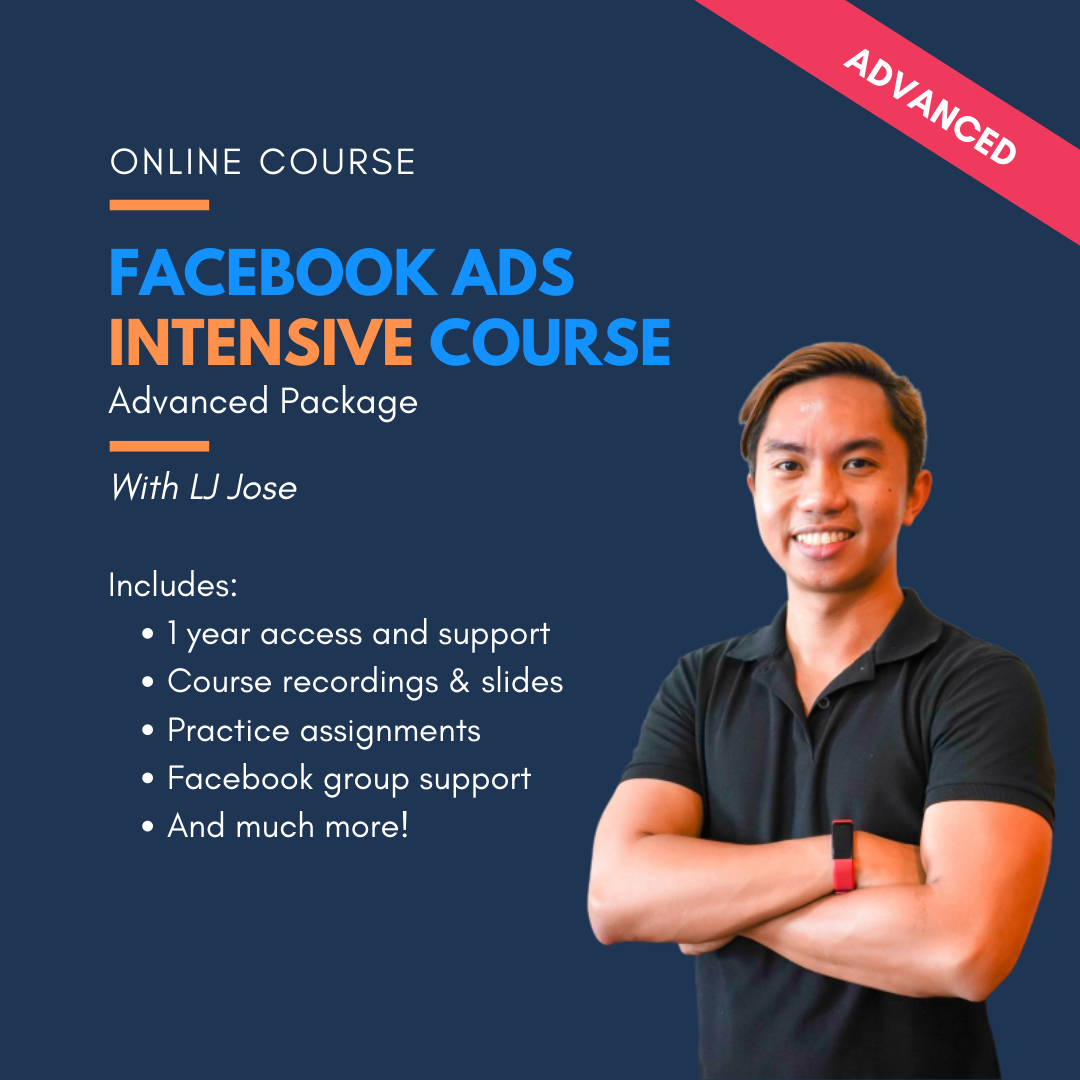 FB Ads Intensive Course - Advanced Package