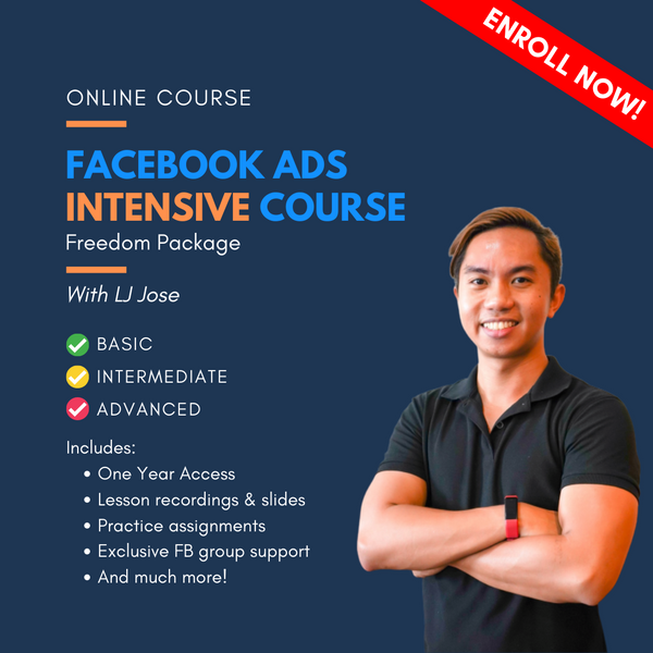 FB Ads Intensive Course - Freedom Package
