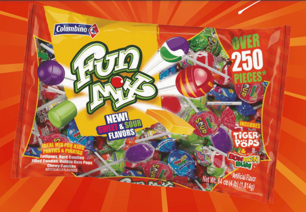 Fun Mix Colombina con 250 unidades