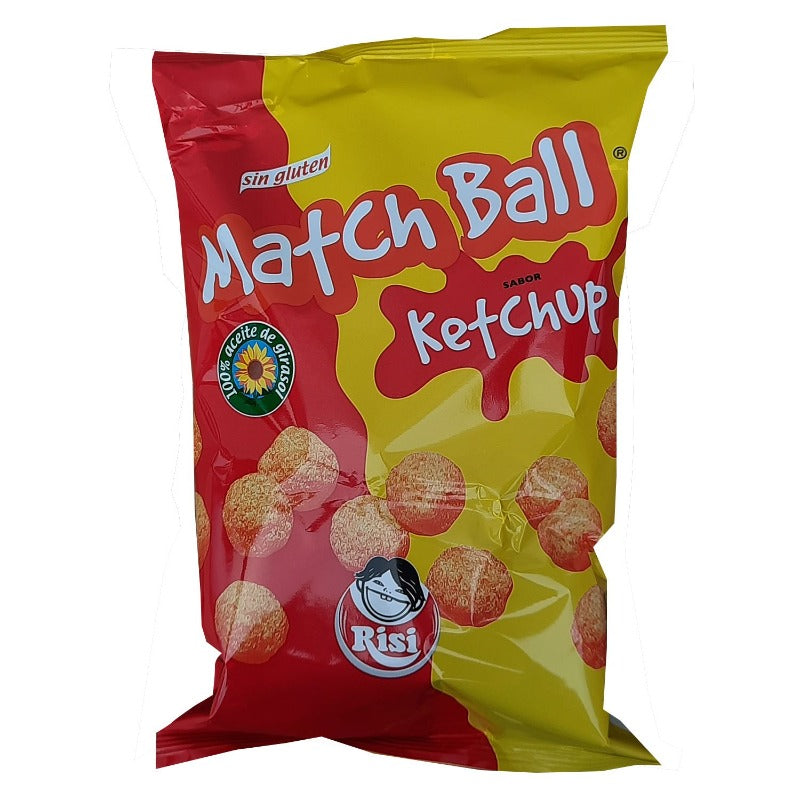 Match Ball Ketchup Familiar (10 Uds)