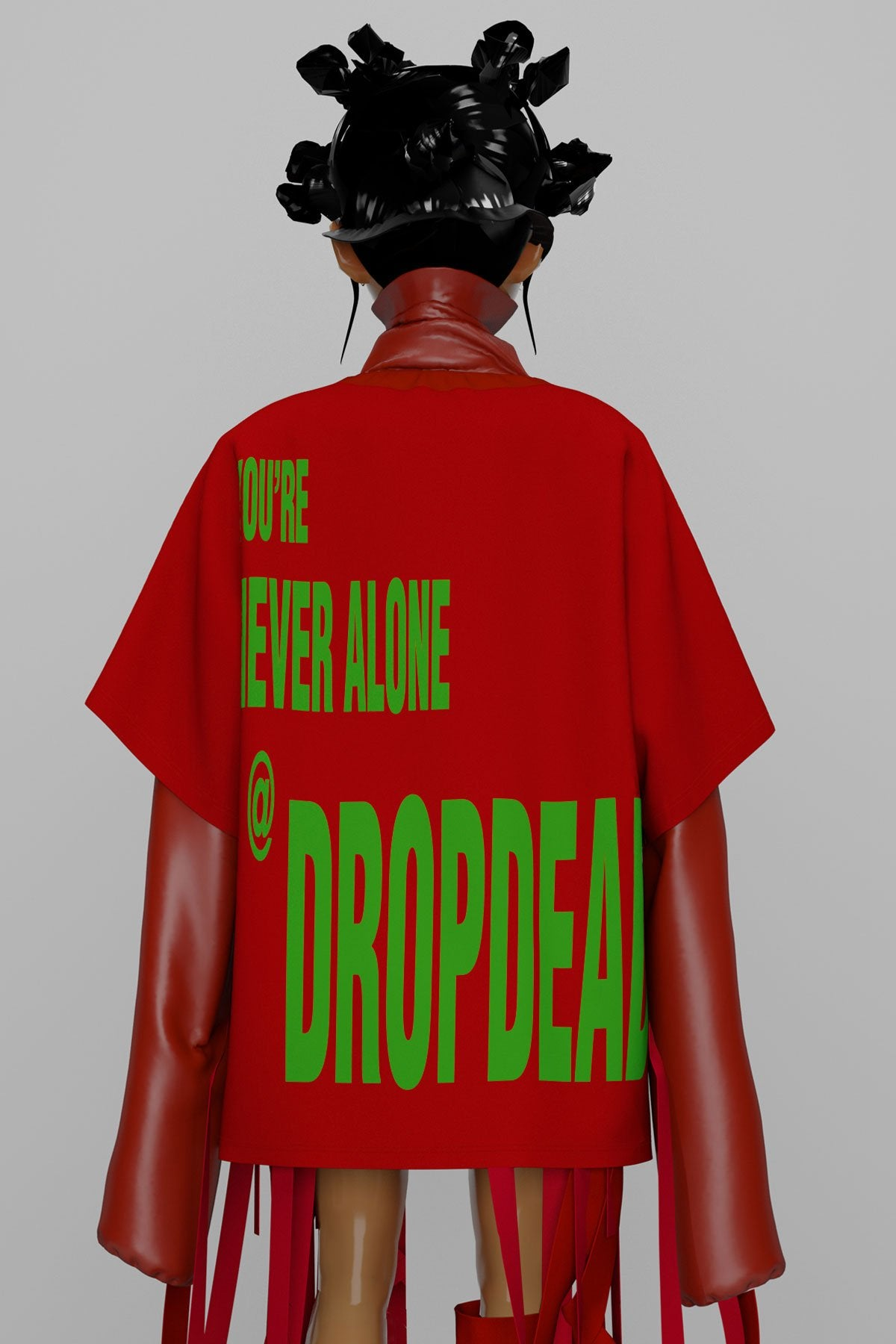 Drop Dead - Never Alone - UNISEX:TOPS