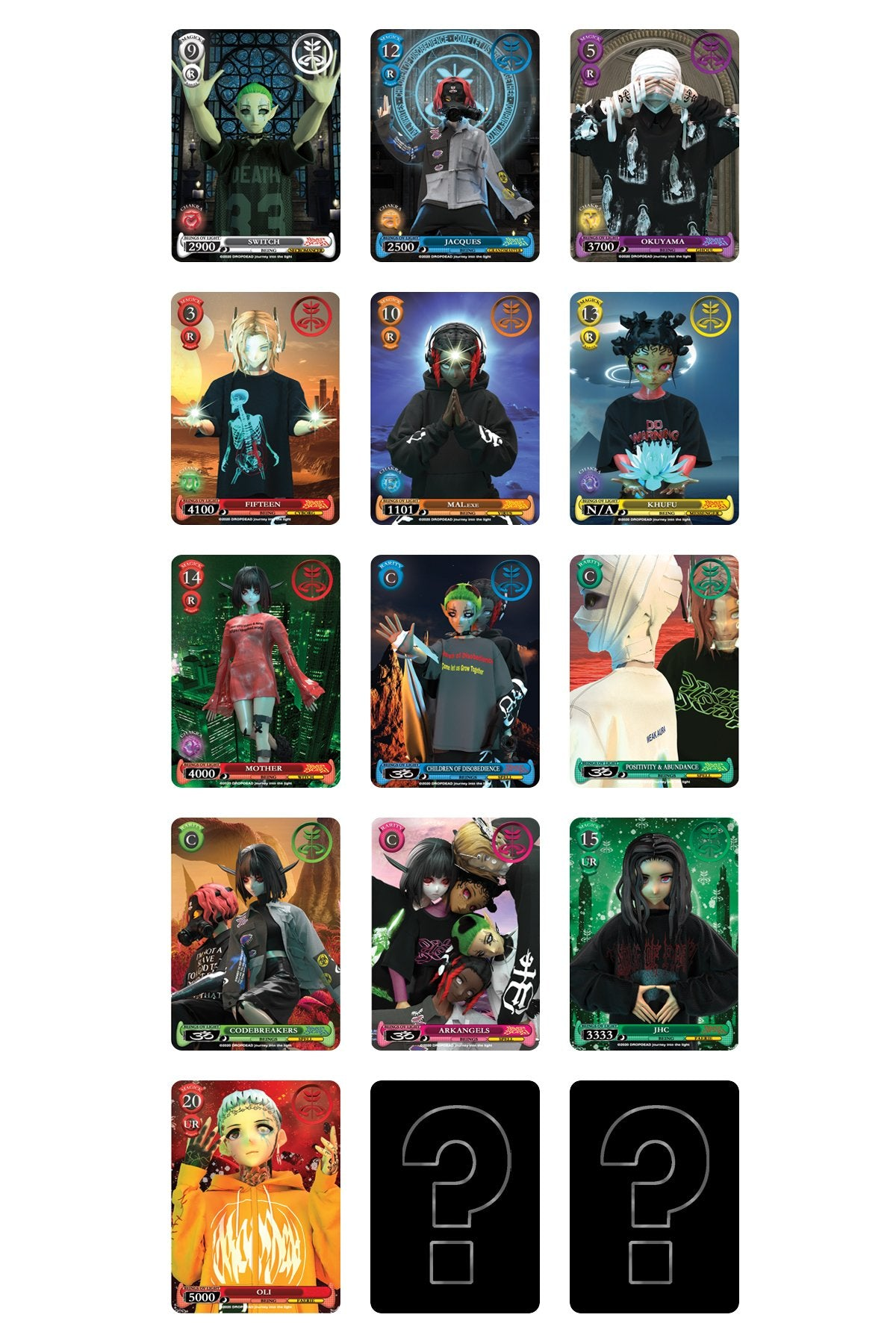 Drop Dead - Trading Card Booster Pack (set 1) - Accessories