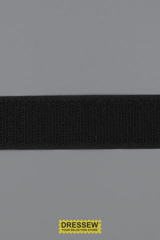 "Hook Tape 25mm (1"") Black"