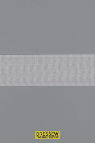 "Hook Tape 25mm (1"") White"