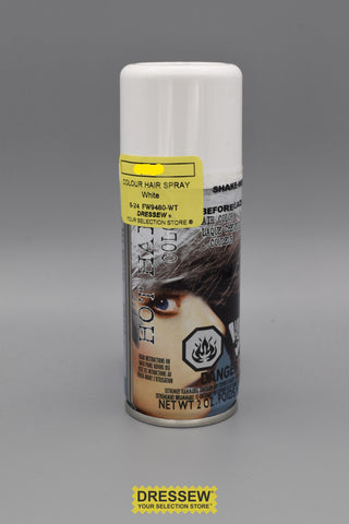 Colour Hair Spray 2oz. White