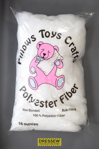 Polyester Stuffing 1 lb. White