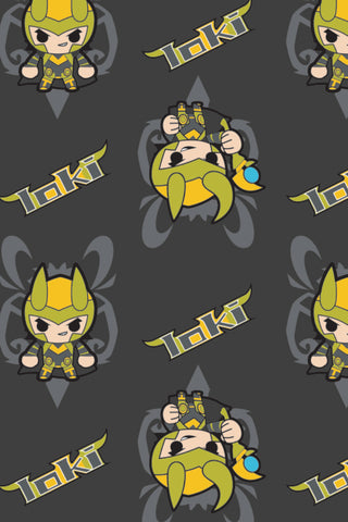 Marvel Kawaii II Mini Loki Charcoal