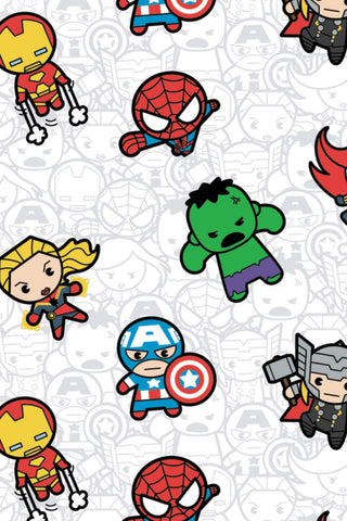 Marvel Kawaii II Action Packed Heroes White