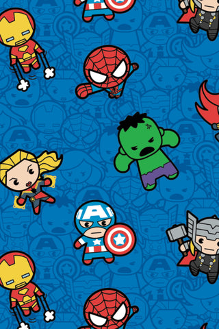 Marvel Kawaii II Action Packed Heroes Blue