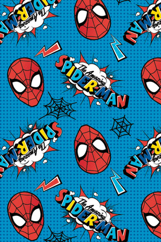 Marvel Kawaii II Spider-Man Logo & Head Toss Aqua