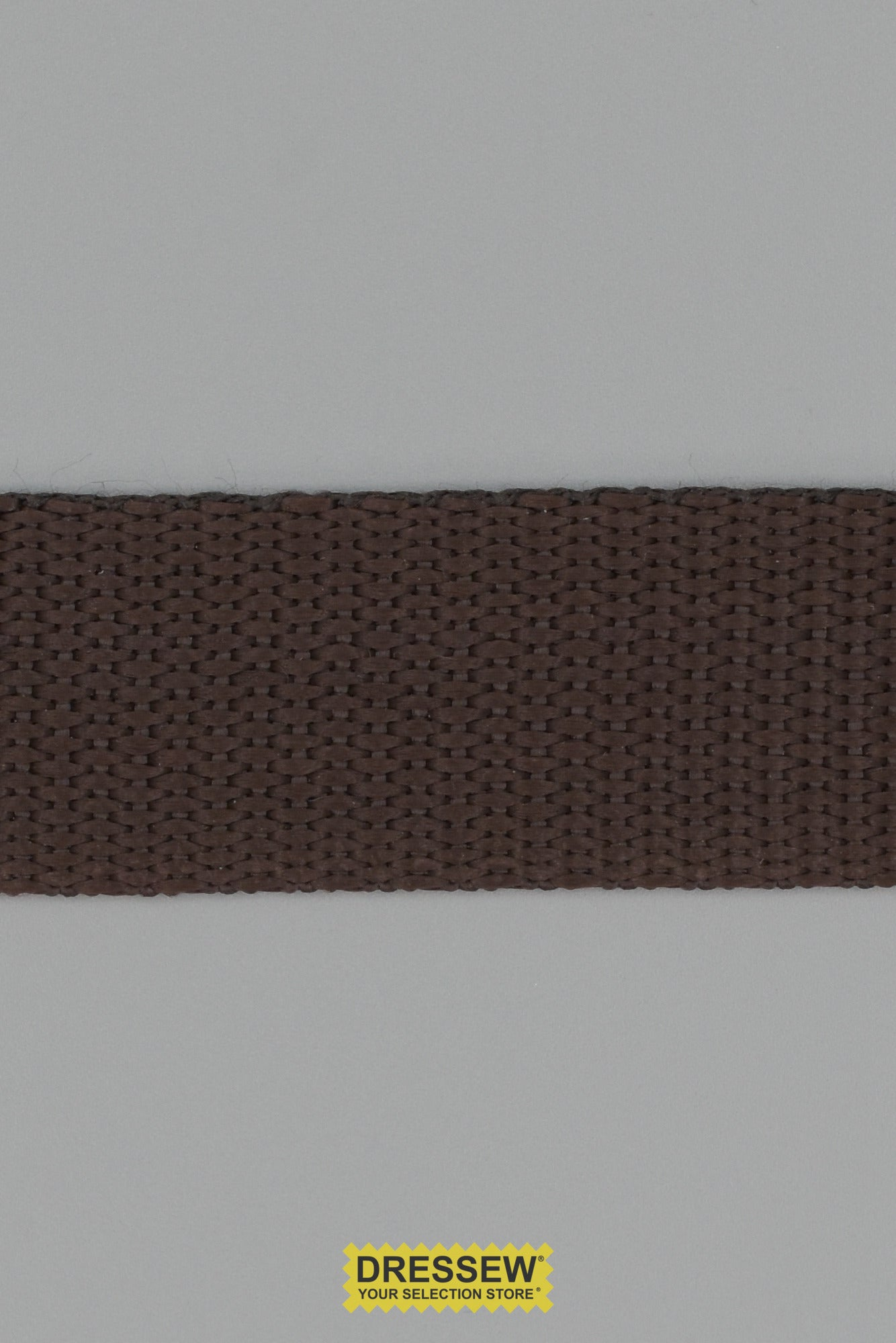 "Webbing 25mm (1"") Brown"