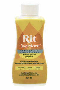 RIT Dye More Liquid Dye 207ml (7oz.) Daffodil Yellow