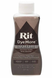 RIT Dye More Liquid Dye 207ml (7oz.) Chocolate Brown
