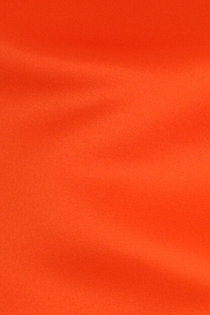 Roselyn Satin Orange Crush