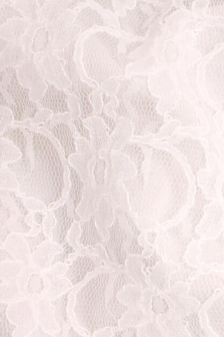 Corded Xanna Lace White