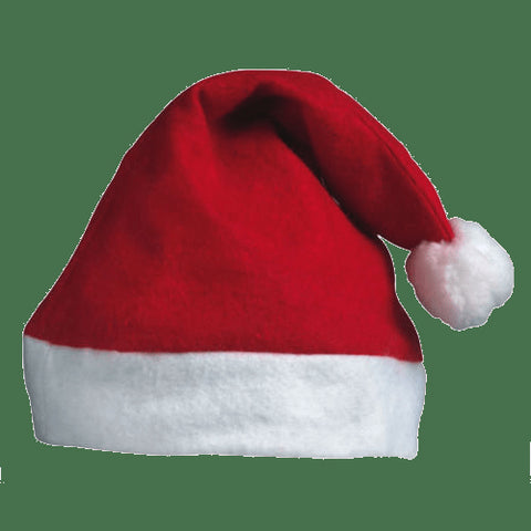 Santa Hat Red / White
