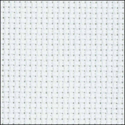 "Aida Cloth 14 count 15"" x 18"" White"