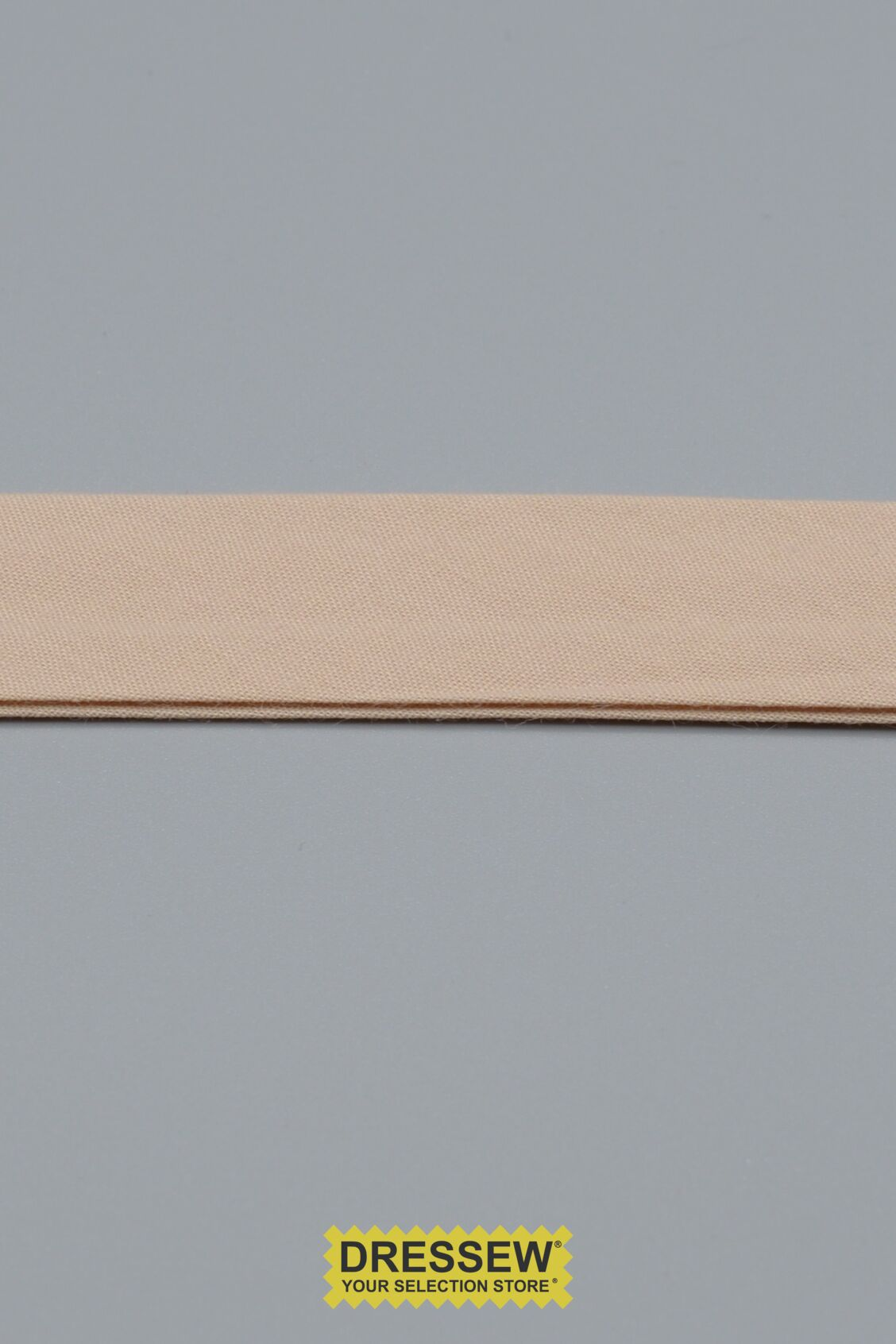 "Double Fold Bias Tape 24mm (15/16"") Taupe"