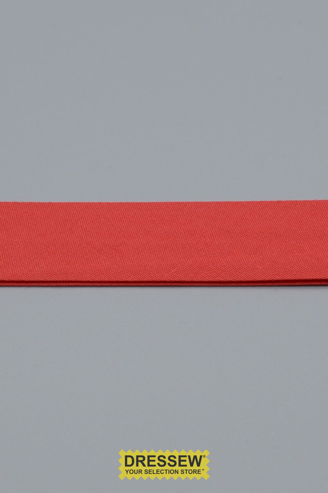 "Double Fold Bias Tape 24mm (15/16"") Red"