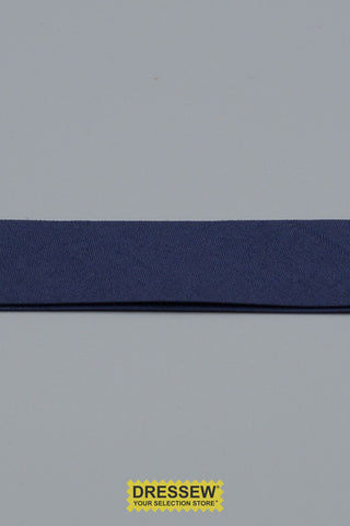 "Double Fold Bias Tape 24mm (15/16"") Navy"