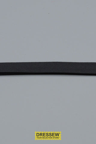 "Double Fold Bias Tape 13mm (1/2"") Black"