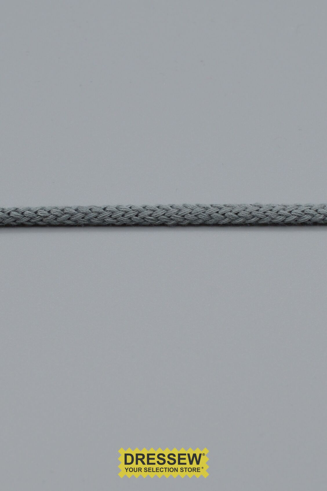 "Cord 3mm (1/8"") Light Grey"
