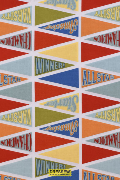 Michael Miller Game Pennants