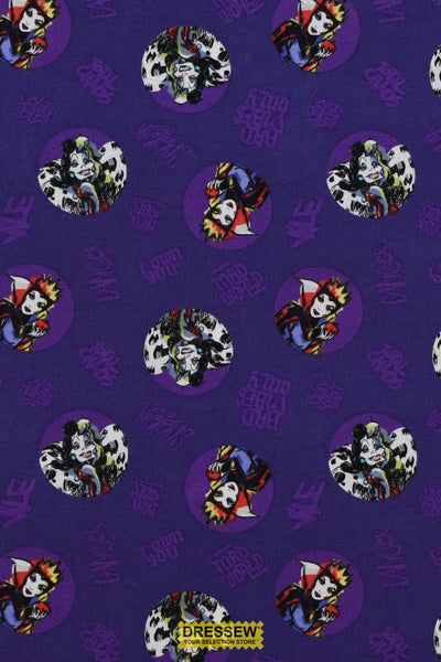 Disney Villains Toss