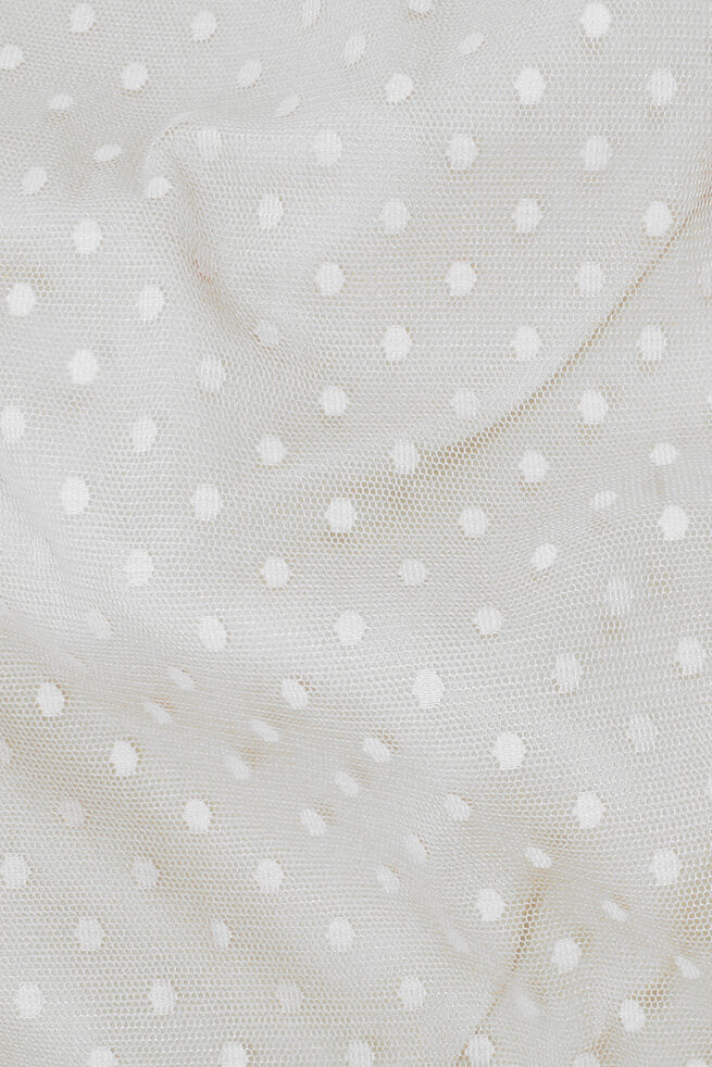 Fun Dot Mesh White