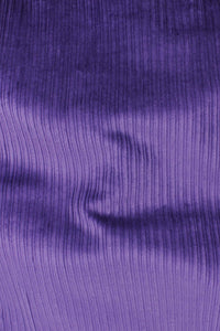 8 Wale Stretch Corduroy Plum