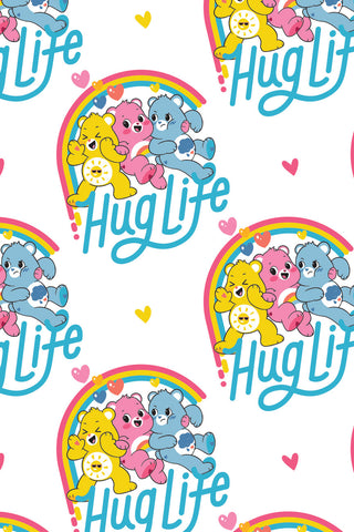 Care Bears Believe Hug Life White